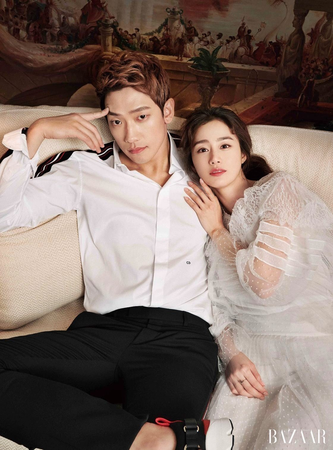 Rain And Kim Tae Hee In First CF Together - K-Luv