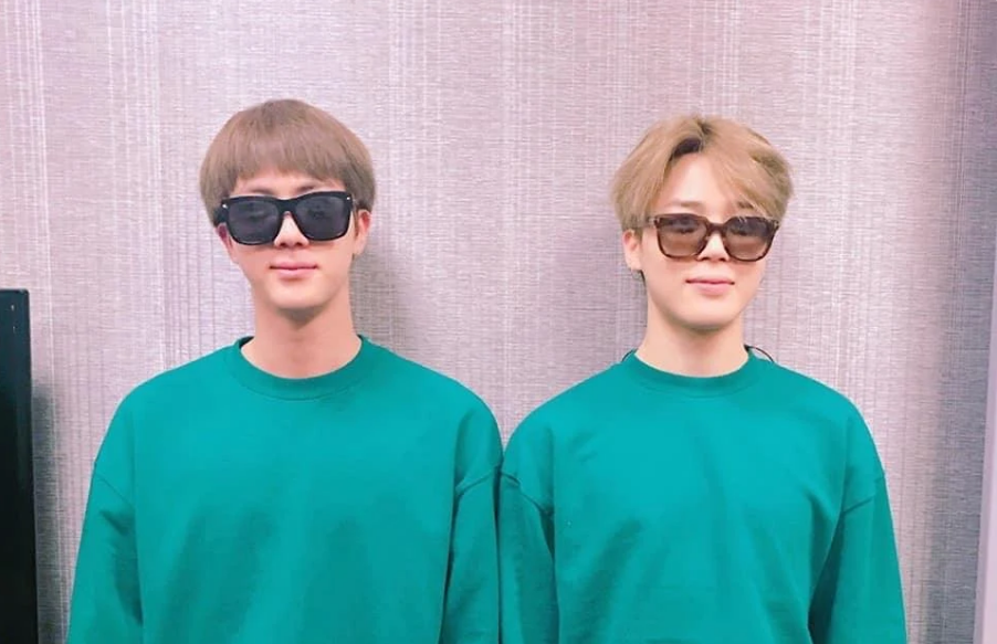 BTS Member Jin Wore The Same Outfit As Jimin + The Reason Behind It Is Heartbreaking