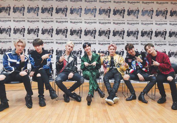 "SuperM Kicks Off ""Beyond LIVE"" Concert + Announces Comeback Album"