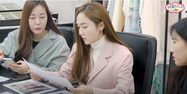 Watch Jessica Jung's New Vlog Showing Her Daily Life As A Fashion Director