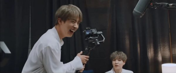 BTS's Jin Learned That Being A Cameraman Isn't As Easy As It Looks