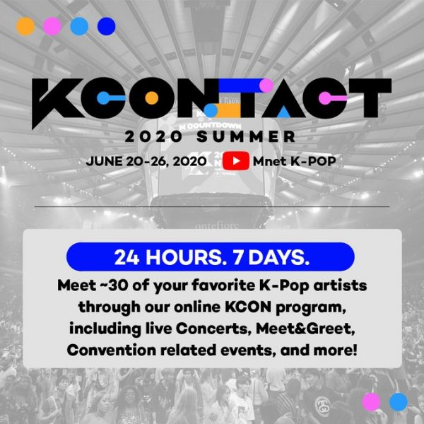 'KCON:TACT 2020 SUMMER' First Slate of Artists Announced