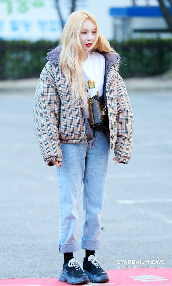 Check Out HyunA's Street Style OOTD