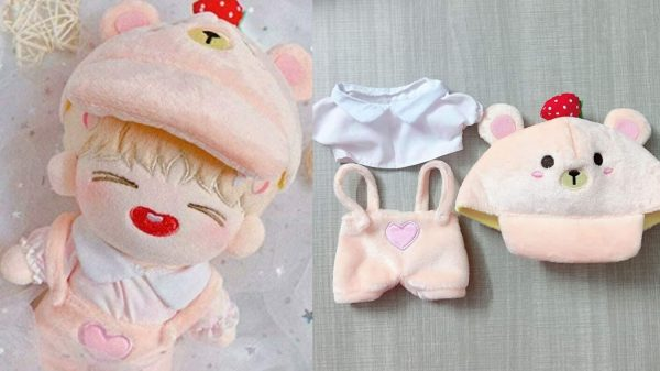 Fashionable Doll Clothes for Your K-pop Idol Plushy Collection