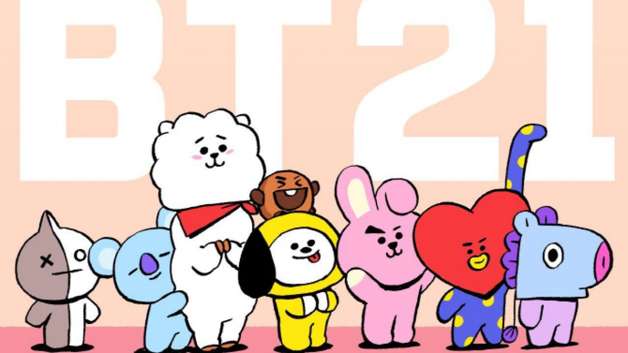 Bts S New Characters Tinytan Makes Their Official Debut K Luv