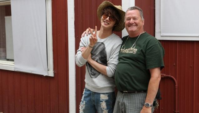 2011 7 OMT Day 7 Qualicum Farm Tour 5.5