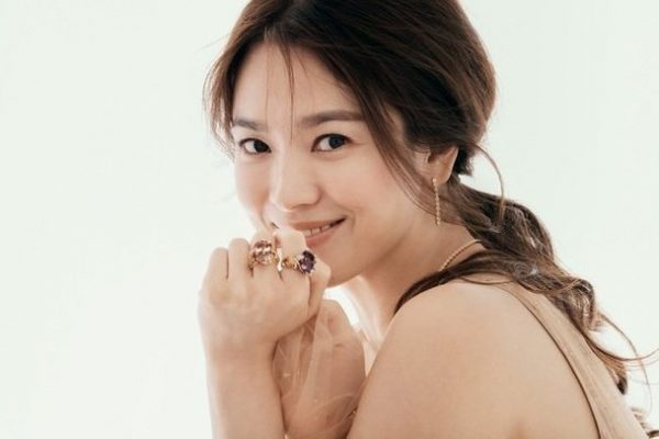 Song Hye-kyo is a Goddess