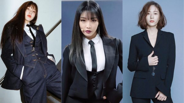 11 Female Idols Who Redefine Sexy in a Suit