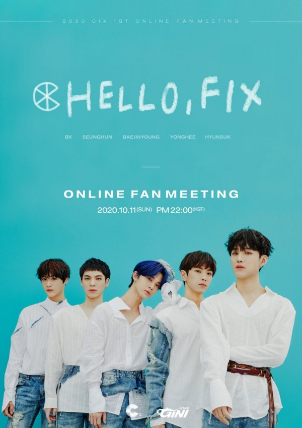 CIX will be meeting their global fans through their first-ever online fan meeting,