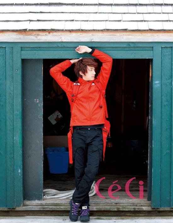 2011 Jung Il woo in Ceci Magazine. 7