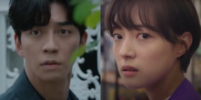 "Shin Sung Rok and Lee Se Young are Frantic in First Trailer for ""Kairos"""