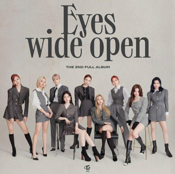 TWICE Reveals 2nd Album: Eyes Wide Open