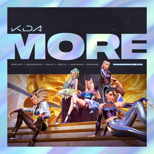 K/DA – MORE Lyrics