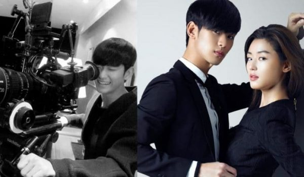 "Kim Soo Hyun Surprises Fans With Never-Seen-Before Pictures From ""My Love From The Stars"" Filming"