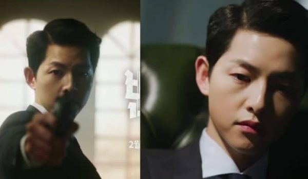 "Song Joong Ki Gives A Warning While Pointing A Gun In First Video Teaser Of ""Vincenzo"""