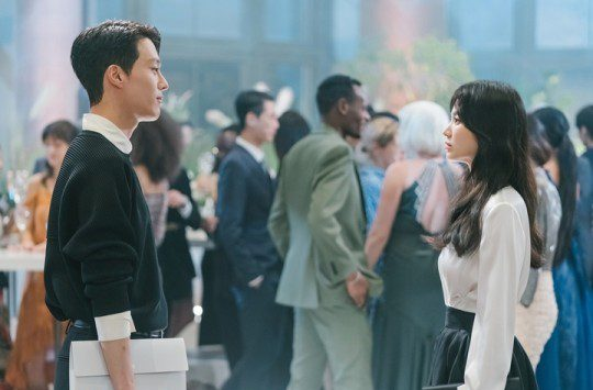 Jang Ki-yong, Song Hye-gyo in Now, We Are Breaking Up